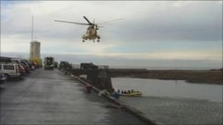 Rescue at Seahouses