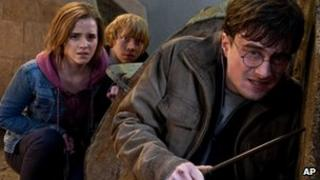 Publicity still from Harry Potter and the Deathly Hallows: Part 2
