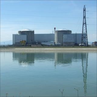 Fessenheim nuclear power station
