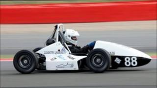 The 2011 Phoenix Racing car