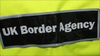 UK Border Agency jacket