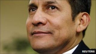 Peruvian President Ollanta Humala (file image)