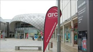 The arc, Bury St Edmunds