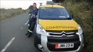 Coastguard John Faragher