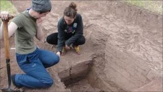 Archaeological digs