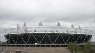 Olympic stadium, Stratford, London May 2011