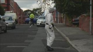 Scene of stabbing in St Helens