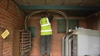 Engineers working to restore power supplies