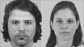 Police images of suspects