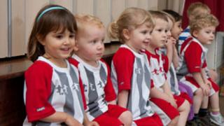 Little Kickers line up