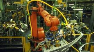 Ford Mondeo production line assembly line factory interior car manufacturing