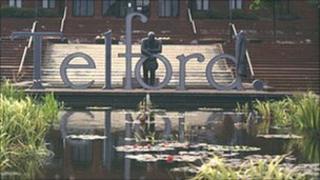 Telford sign (generic)