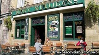 Biddy Mulligan's in The Grassmarket Pic: Undiscovered Scotland