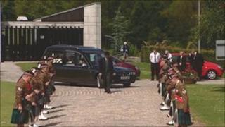 Scott McLaren's funeral