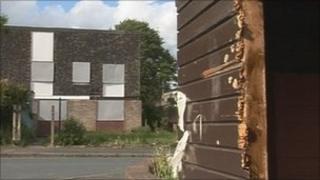 Derelict housing