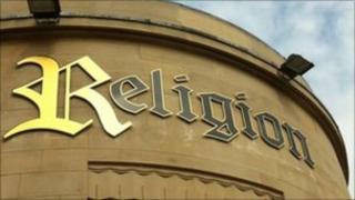 Religion nightclub