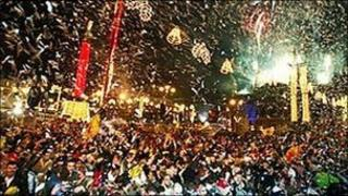 George Square Hogmanay party