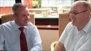 Steven Chandler and Eddie Davies