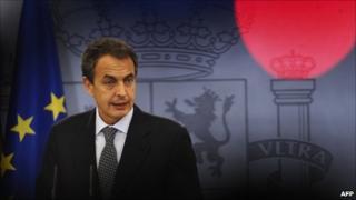 Jose Luis Rodriguez Zapatero. File photo