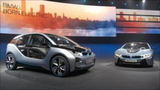 BMW's i3 and i8 models (pictures: BMW)
