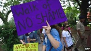 """Delhi """"Slutwalk"""" rally, 31 July"""