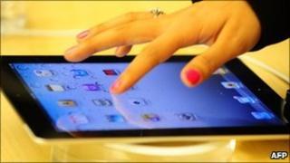 Apple iPad, AFP/Getty