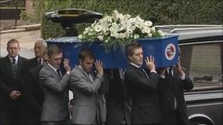 Robert Sebbage's funeral