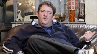 Johnny Vegas in Ideal