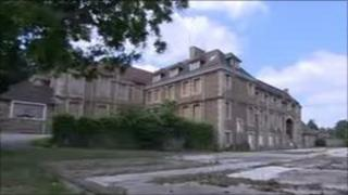 The former Victoria Hospital in Park Road, Frome