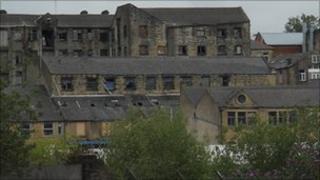 Derelict buildings in Bradford