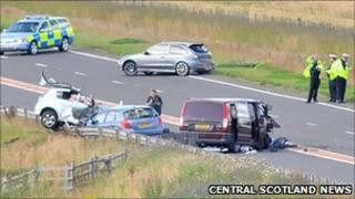 Scene of the crash