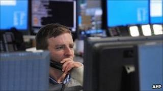 A broker in London