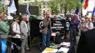 CND rally in Glasgow