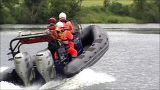 Rescue speed boat
