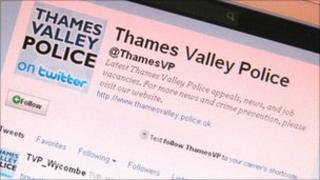 Thames Valley Police on Twitter