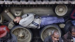 Egypt demonstrations, AP