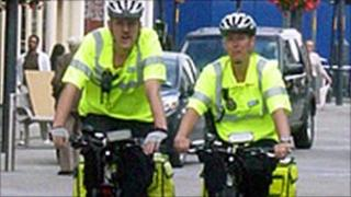 Cycling paramedics in Leeds