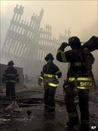 Firefighters on 9/11