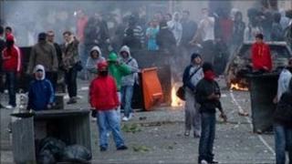 Rioters, Hackney