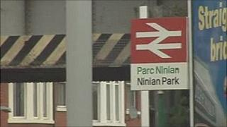 Ninian Park station