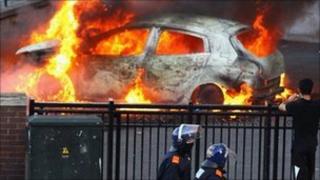 Birmingham riots - Moor Street