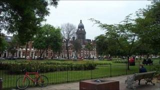 Park Square in Leeds