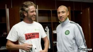 Legends players: (picture from Oxfam)