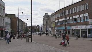 Southampton city centre