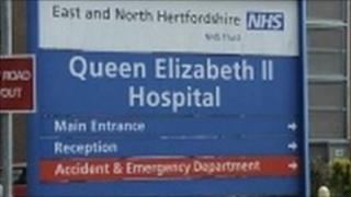 The QEII hospital