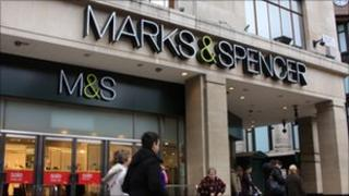 Marks & Spencer store (generic)