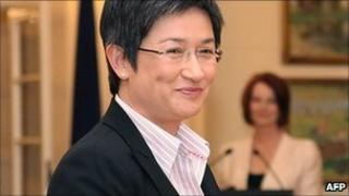 Penny Wong is sworn in by the Governor-General on September 14, 2010