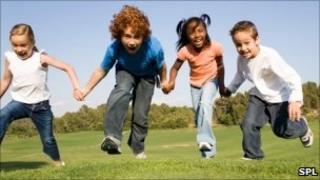 Children playing (generic image)