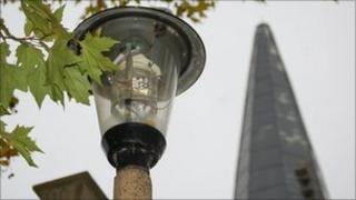 Street light in Ipswich