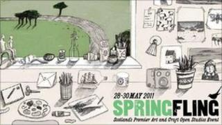 Spring Fling brochure
